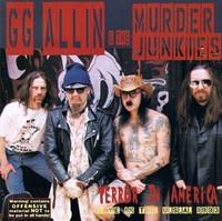 ALLIN , GG  & THE MURDER JUNKIES   - Terror in America  LTd ed ORANGE MARBLE    LP