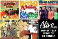 ALIVE 2013 CD WRAP UP   - 5 of our CD releases for 2013 & surprise bonus CD!