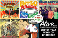 ALIVE 2013  LP WRAP UP -ALL releases for 2013  (minus the Swamp Dogg Prod )  -  LP