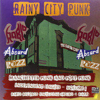 RAINY CITY PUNKS  -SALE!  -70s Manchester Punk Independent singles -180 gram COMPLP