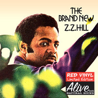 ZZ HILL -The Brand New- w liner notes flier by SWAMP DOGG (70s soul) RED VINYL  GATEFOLD LP