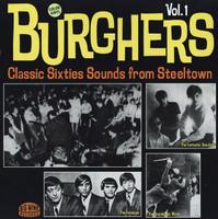 BURGHERS #1  - VA  Pgh PA 60s garage- color vinyl -  COMPLP