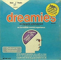 DREAMIES- HOLT, BILL (CULT CLASSIC PSYCH '74 -  w repro of rare insert -  LP
