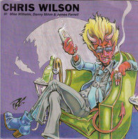WILSON, CHRIS - Sympathy for the Devil  pic slv. (Flamin Groovies / Barracudas )  PIC SLV  -  45 RPM