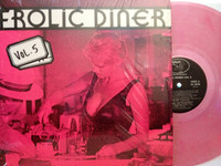 FROLIC DINER #5  - VA Clear pink wax (50/60s Classic strip lounge genius) COMPLP