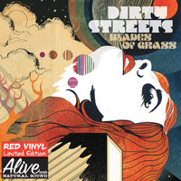DIRTY STREETS  -Blades Of Grass - Ltd ed of 200 DEVIL RED  VINYL (Radio Moscow tourmates )-   LP