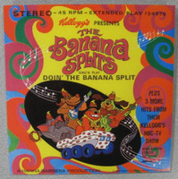 BANANA SPLITS- Sing N Play-Doin the Banana Splits -EP   pic slv -45 RPM