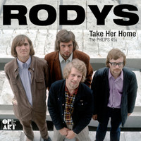 RODYS - TAKE HER HOME -THE PHILIPS 45'S (2LP)  DELUXE 350 GMS CARTON GATEFOLD SLEEVE, INCLUDING RARE PHOTOS, SINGLE COVERS AND LINERS BY MIKE STAX OF UGLY THINGS - ONE ONLY!  LP
