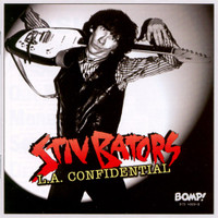 BATORS, STIV  - L.A. Confidential  (unreleased demos , studio recordings and alternate mixes )  RED VINYL  -   LP