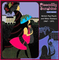 PICCADILLY SUNSHINE #12 (obscure 60s Brit psych)- COMPCD