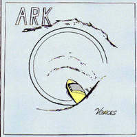 ARK   - Voyages  (US private psych rarity 78 w liner notes by Patrick Lundborg (Acid Archives) ) -   LP