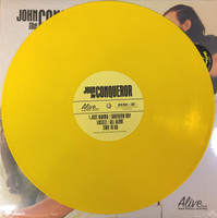 JOHN THE CONQUEROR -St- (raw deep blues with funk, soul, punk and scuzzed-up rock-n-roll) LTD ED of 250 on MELLOW YELLOW vinyl!