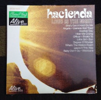 HACIENDA-Loud Is The Night  LTD ED of 200 on green vinyl ( Beatles style pop  prod by DAN OF THE BLACK KEYS ) -   LP