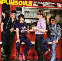 PLIMSOULS  -  Live! Beg, Borrow & Steal  BLACK VINYL -  LP