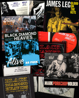 BLACK DIAMOND HEAVIES  SUPERBUNDLE- WITH KING MUD ,PAINKILLERS ,JAMES LEG ,PORKCHOP  -9 CD BUNDLE