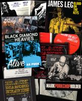 BLACK DIAMOND HEAVIES  SUPERBUNDLE- WITH KING MUD ,PAINKILLERS ,JAMES LEG ,PORKCHOP  -9 CD BUNDLE