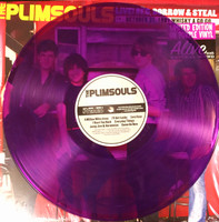 PLIMSOULS -Live! Beg, Borrow & Steal-purple vinyl ltd to 200 - LP