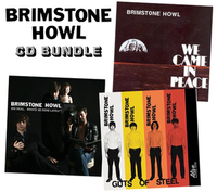 BRIMSTONE HOWL-3 CD BUNDLE -60s style garage prod by Dan of the Black Keys!