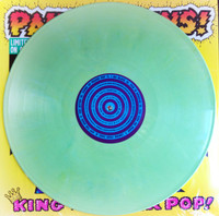 COLLINS, PAUL- King Of Power Pop!  LAST COPIES Ltd ed of 150 on GREEN MARBLE vinyl   LP