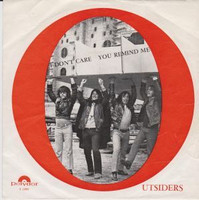 OUTSIDERS - I Dont Care /You Remind Me PIC SLV (60s garage) 45 RPM