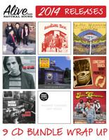 ALIVE 2014 WRAP UP - 9 CD BUNDLE - Get em all for a bargain price!