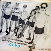 DEVO  - Satisfaction PIC SLV  ( New Wave ) -  45 RPM