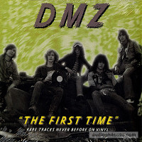 "DMZ - The First Time 10 "" Live demos 76' cover design by Greg Shaw -  LP"