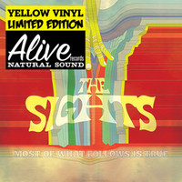 SIGHTS  - Most Of What Follows Is True-  (power pop ) Yellow vinyl ltd ed-  LP