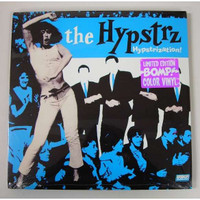 HYPSTRZ - Hypstrization - Clear blue vinyl ltd to 500  ( legendary garage soul )  LP