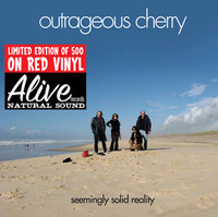 OUTRAGEOUS CHERRY   - Seemingly Solid Reality ( glam psych ) RED ViNYL -   LP