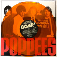 POPPEES - Pop Goes The Anthology  (great powerpop 60s style) ltd ed of 500 orange vinyl LP