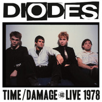 DIODES   - Time /Damage  Live 1978  ( 70s punk ) -   LP