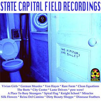 STATE CAPITAL FIELD RECORDINGS - VA ( Featuring 17 of the best nyc garage and punk bands -)    LP
