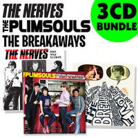 PLIMSOULS / NERVES / BREAKAWAYS -3 CD BUNDLE