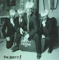 CREEPY CREEPS - Fink About It (60s style SURF garage)CD