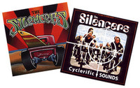 SILENCERS   BUNDLE - 2 cds for just $8 !   60's style Detroit surf ala Link Wray, Ventures,Dick Dale