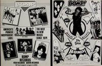 BOMP / VOXX / QUARK  -  collectors item, rare Promo Folder -