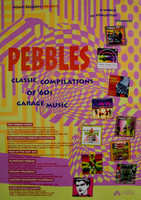 PEBBLES  - Classic Compilations of 60s Garage Music -  POSTERS