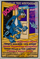 BOMP 25th ANNIVERSARY  -Feat. Brian Jonestown, Zeros,W Kramer, Twink and more -  POSTERS