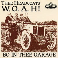 HEADCOATS, THEE  - W.O.A.H. (70s Style Garage) CD