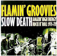 FLAMIN' GROOVIES - Slow Death  (70s rock and roll gods GATEFOLD  LP
