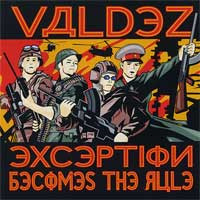 VALDEZ - Exception Becomes the Rule  (UK punk) CD