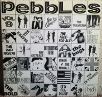 PEBBLES - Vol 09 -LIMITED to 200 in PURPLE VINYL -  COMPLP