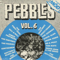 PEBBLES - Vol 06 -LIMITED to 500 in BLUE VINYL -   COMPLP