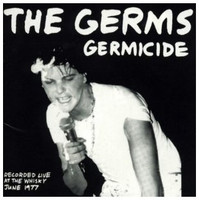 GERMS -LAST  COPIES ! Germicide Live at The Whiskey 77 -CD
