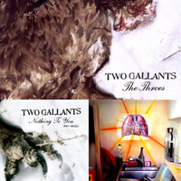 TWO GALLANTS - The Throes plus  TWO FREE CDs! CD