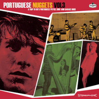 PORTUGUESE NUGGETS  #3 -A Trip To 60's Portuguese Psych, Surf And Garage Rock   COMPLP