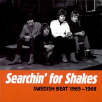 SEARCHING FOR  SHAKES  - VA Swedish Beat 65- 68  (THE SWEDISH NUGGETS)-COMPCD