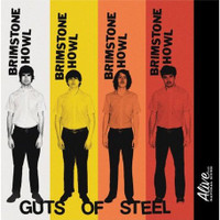 BRIMSTONE HOWL- Guts Of Steel  (Prod by Dan of the Black Keys) -   CD