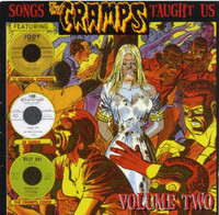 SONGS THE CRAMPS TAUGHT US Vol. 2 w 24 page booklest - COMPCD